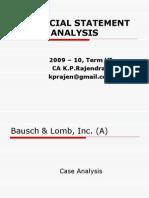 Bausch & Lomb_case Analysis