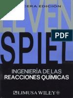 Ingenieria de Las Reacciones Quimicas Levenspiel 2004