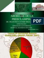 Congreso Estatal Fisiopatologia de La Preeclampsia