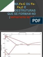 Diagrama de Fases Fe-C