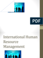 Internationalhumanresourcemanagment MBA III