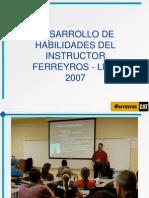 Ppt Habilidades Del Instructor 07