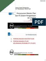 Master Plan Dan FS Sistem Pengelolaan Air