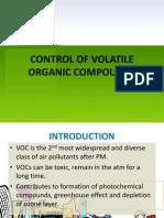 w11 Control of Vocs