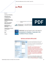SPSS, SAS, And Mplus Macros and Code - Andrew F. Hayes, Ph.D