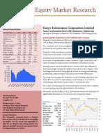 FIB Research - Kenya Re Research Report _19 Nov 2009