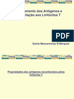 Imunologia - AULA 05 - Processamento Dos Ags e Apresentação Aos LT