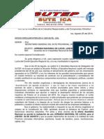 Oficio Circular 05-Jornada Nacional 28 Agosto