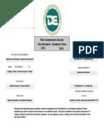 Plan Comprensivo Escolar 2012-2014 de la Escuela Dr. José Celso Barbosa (62802)