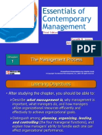 Essentials of Contempropry Management