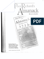 the poor richards almanack