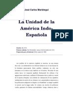 Mariátegui, José Carlos (1924) La Unidad de La America Indo Española
