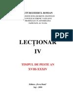 Lectionar IV