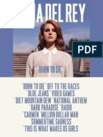 Lana Del Rey-Born to Die (Digital Booklet)