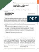 Evolución Histórica, Táctica y Estructural Del Sistema Defensivo 5-1. Jose Julio Espina