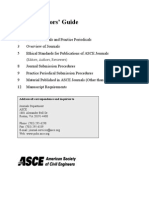 Asce Author Guide Journals