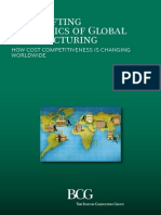 BCG-The Shifting Economics of Global Manufacturing-Aug2014