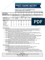08.26.14 Post-Game Notes