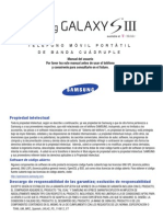 Samsung GS3 Manual Spanish