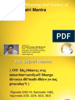 Science of Gayatri Mantra
