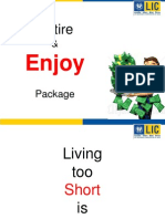 Lic Pension Policy - Retire & Enjoy Presentation