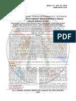Tinospora cordifolia regulates lipid metabolism in alloxan induced diabetic rats, Int. J. Pharm. & Lif. Scie. 4(10)