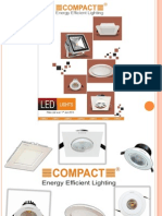 What is LED Downlights? How Many Types of Downlights Available Online