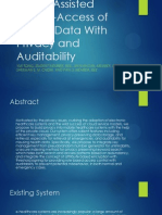Cloud-Assisted Mobile-Access of Health Data With Privacy and Auditability