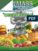 Healthy Mass 4000
