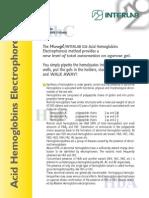 Acid ELECTROforesis