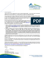 SD42 Parent Letter - August 25 2014