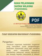 Kebijakan Pelayanan Kesehatan Wilayah