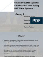 Design Concepts of Water Systems From River Withdrawal