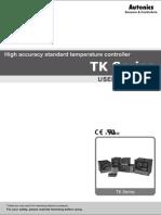 TK Series User Manual