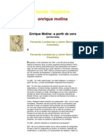 Entrevista a Enrique Molina