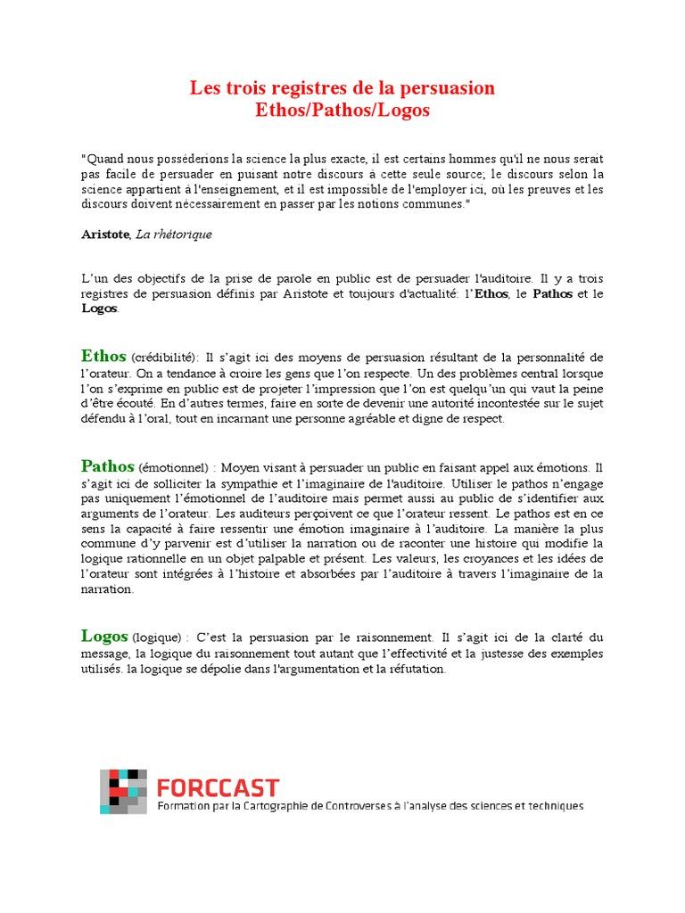 FORCCAST Description de controverses – Mines ParisTech