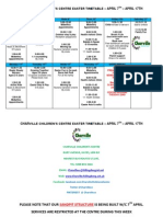 Easter Timetable 2014(1)