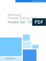 McKinsey Problem Solving Test - TOYO Piano PST Case - www.MConsultingPrep.com