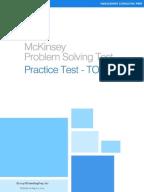 Mckinsey problem solving test pst 2006