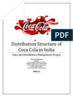 Coca Cola Sales and Distribution
