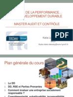 1- FC Lyon - Mesure de La Performance Et Développement Durable
