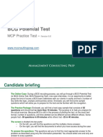 BCG Potential Test _ Practice Problem Solving Test_ www.MConsultingPrep.com