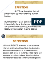 Overview on Human Right