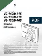 Cámara Digital Olympus - Manual de Instrucciones