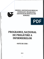 Programul National de Pregatire a Infirmierelor