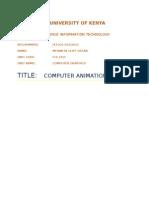Computer Graphics - Animation