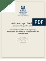 Arizona Legal Studies