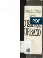 Corrêa, Roberto Lobato. o Espaço Urbano