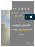 233307662 Computer Awareness Questions for IBPS CWE IBPS PO SBI PO SSC Part 2