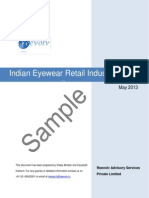 Indian Eyewear Retail Industry Report